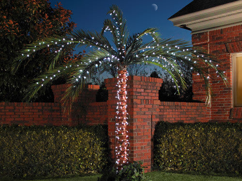 led palm tree lighting kit up to 10 palm 200 lights with twinkle