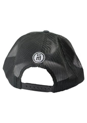 Black & Grey Mesh Hat