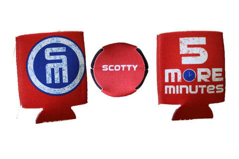 NEW - 5 Minute Red Koozie