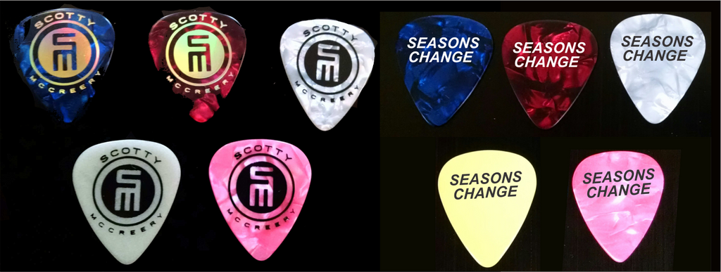 Scotty McCreery Guitar Pick Pack