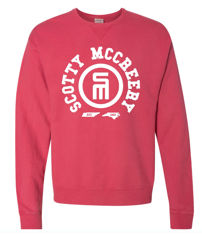 NEW! Heather Red Crewneck Sweatshirt