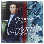 CD - Christmas with Scotty McCreery AUTOGRAPHED