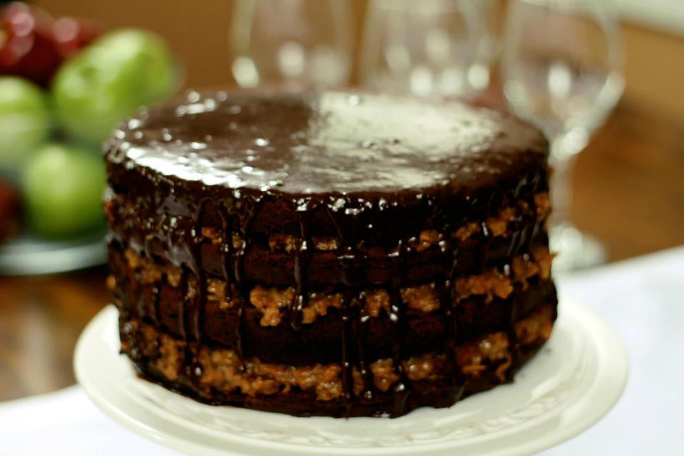 Custom German Chocolate Cake