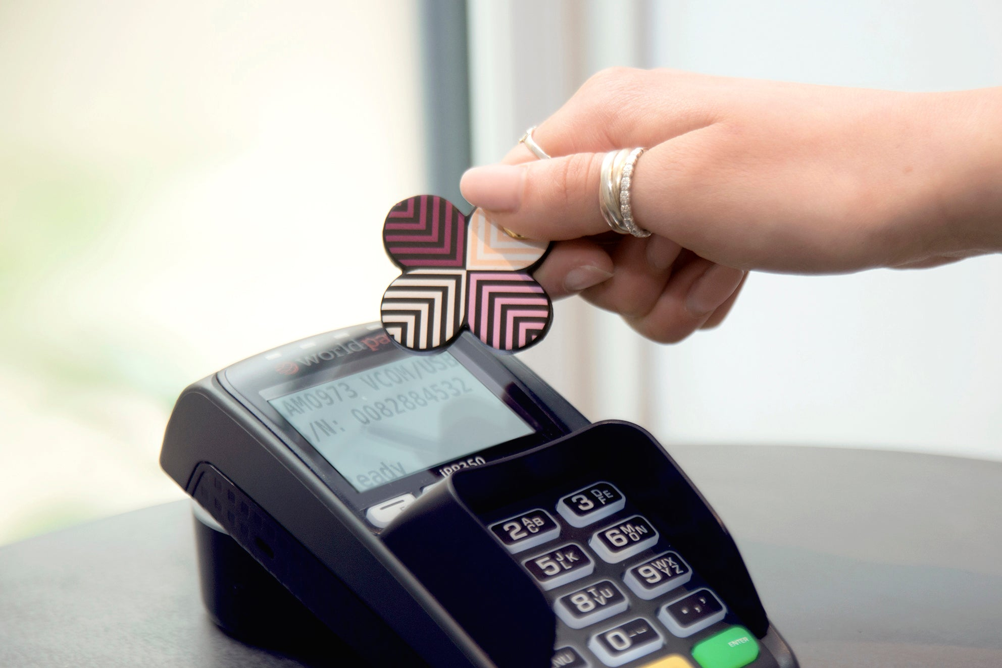 Contactless Payment Key Rings for Women
