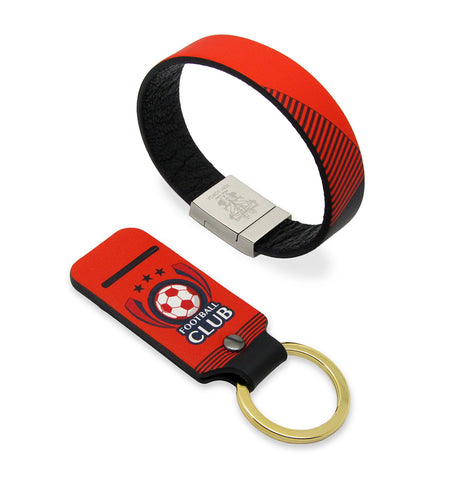 Branded corporate gifts - football club stadium ticketing wearables with contactless payment
