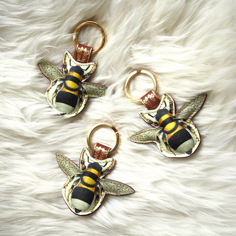 Bee key ring for friends of the earth