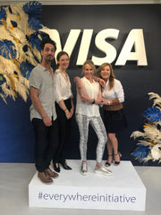 Visa everywhere initiative with Tovi Sorga wearables