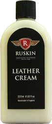 Ruskins leather cream will help protect your printed leather accessories