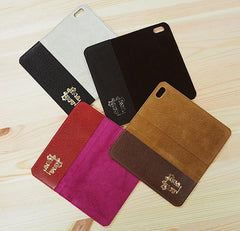 coloured leather phone cases microsuction Tovi Sorga