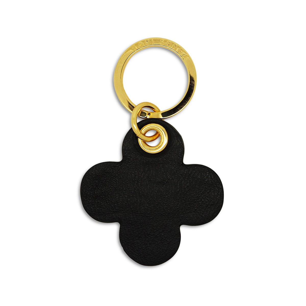 Leather Contactless Payment Key Charm - Lucky Lilac Clover Tovi Sorga