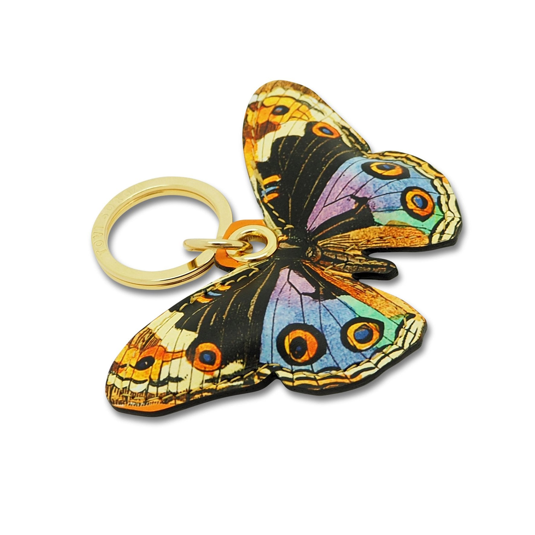 Leather Contactless Payment Key Charm - Multicolour Butterfly Tovi Sorga Multicolour