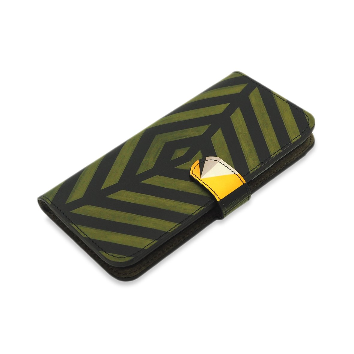 Leather Wallet Folio Phone Case - Zulu Phone case Tovi Sorga ‌iPhone 12‌ Pro Max No personalisation Green