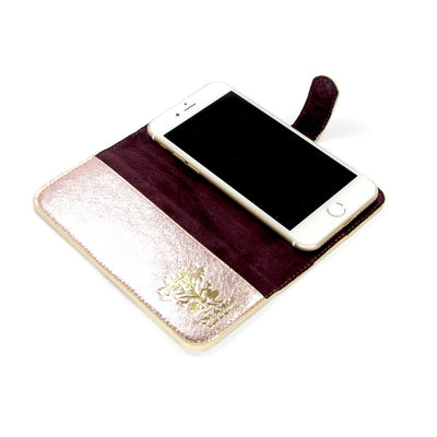 Leather Folio Phone Case - Himalaya