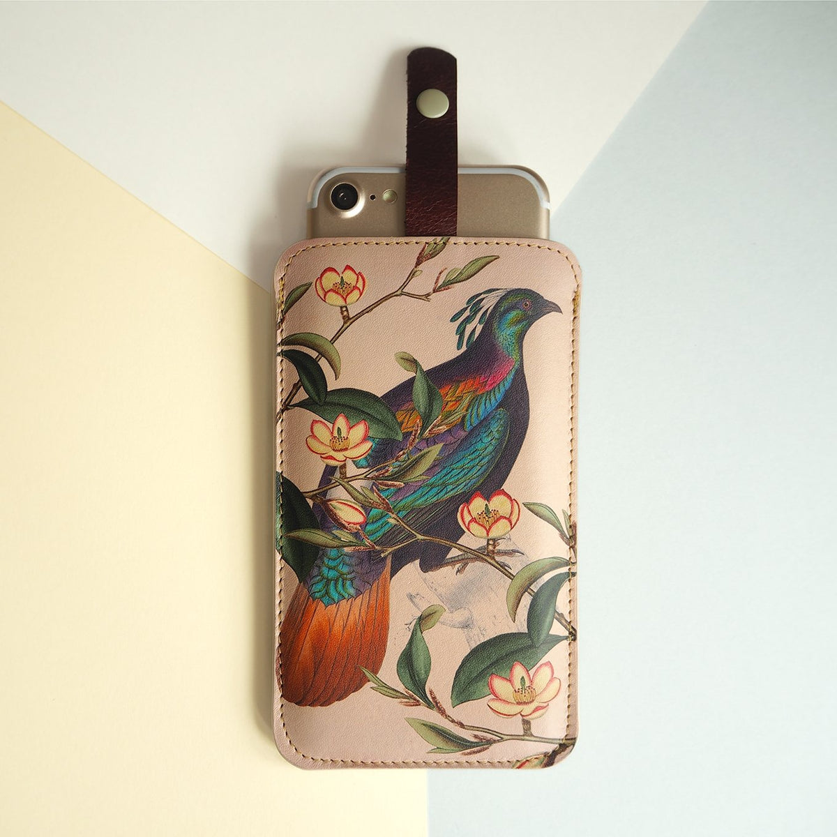 Leather Phone Case Sleeve - Himalaya