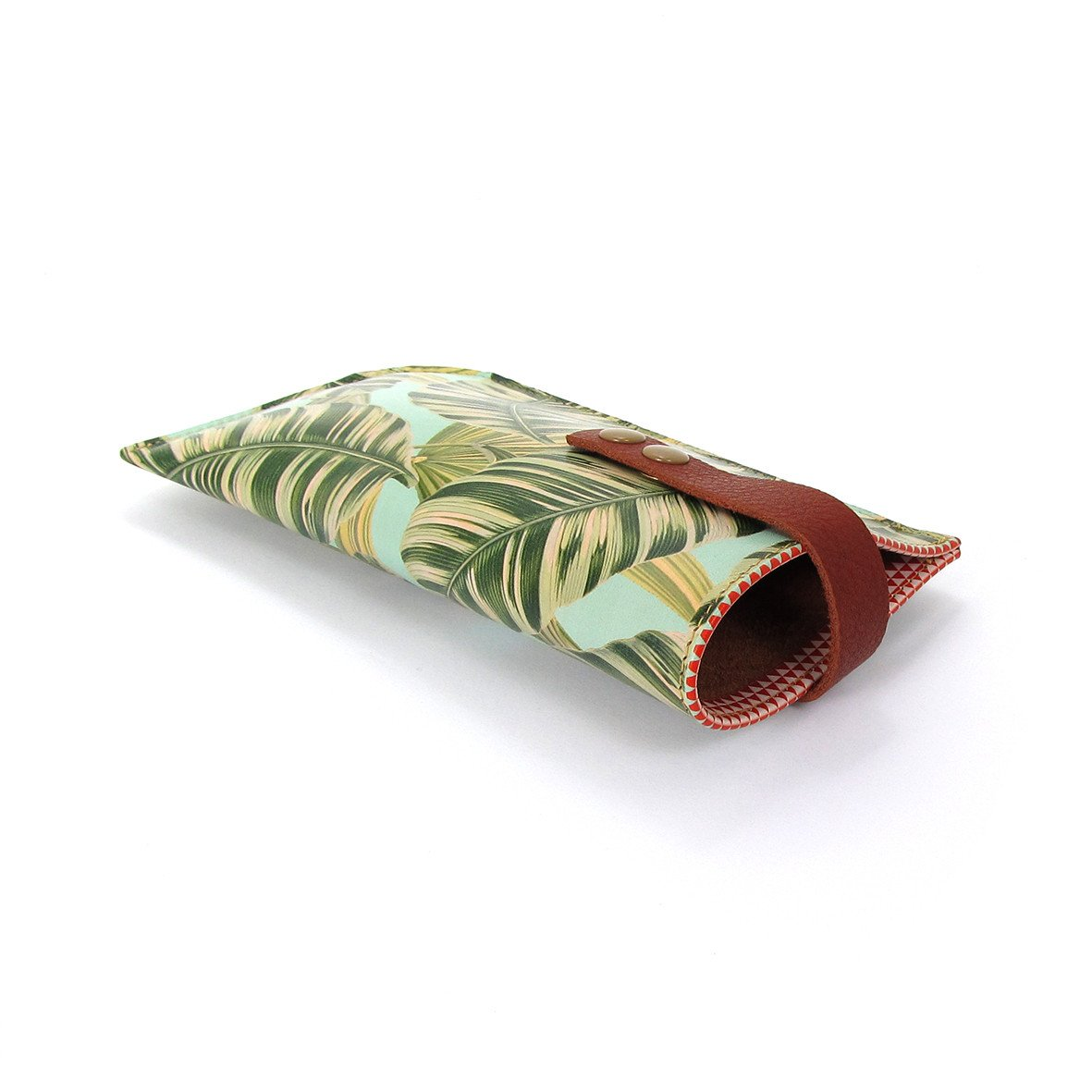 Leather Sunglasses Case: Tropical - Tovi Sorga  - 5