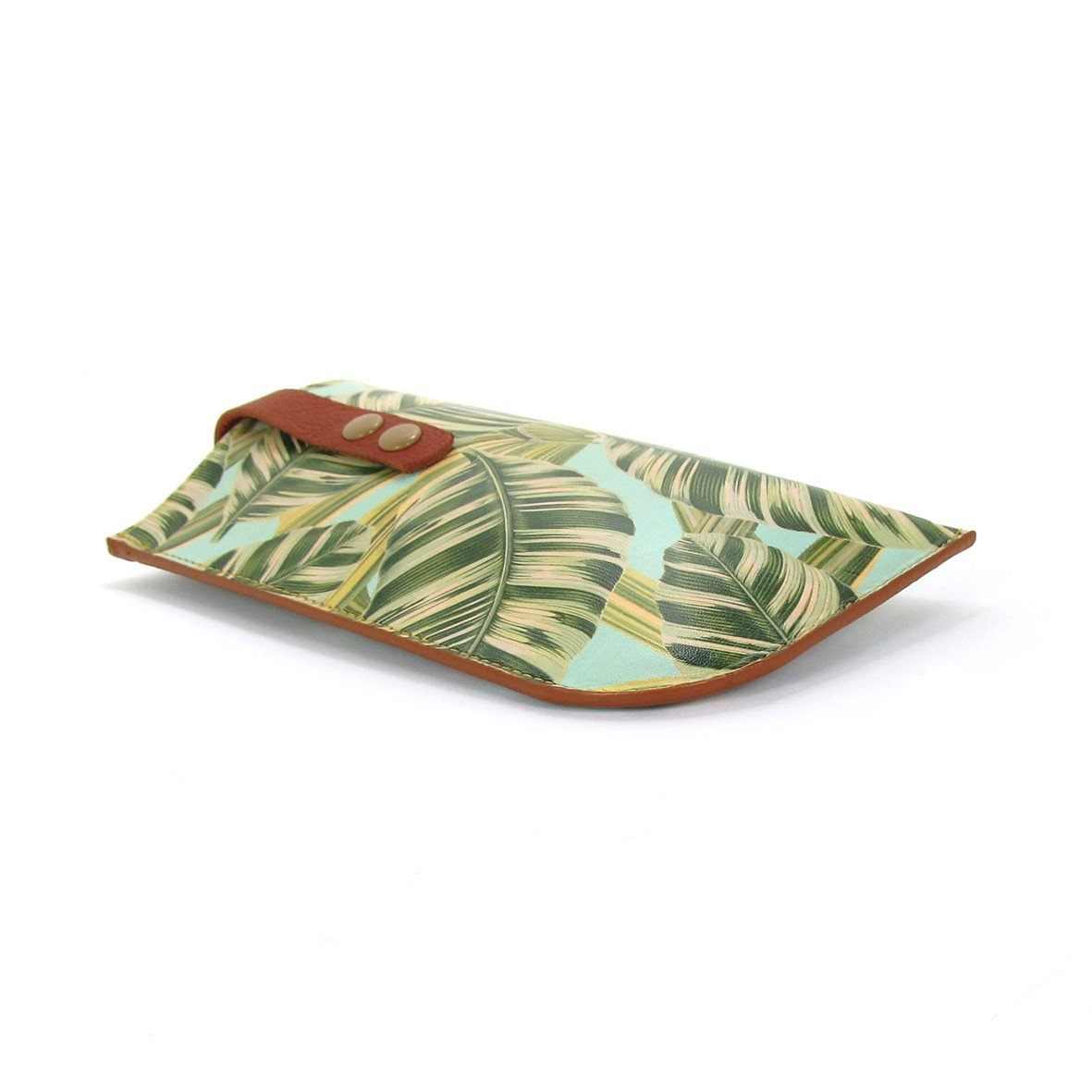 Leather Sunglasses Case: Tropical - Tovi Sorga  - 6