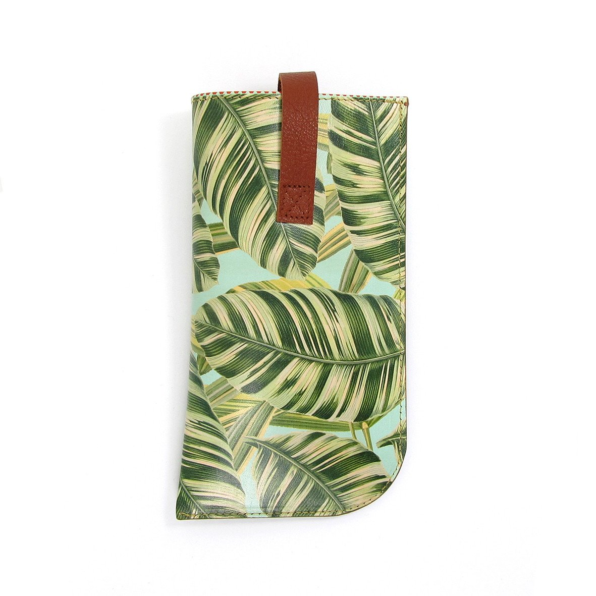 Leather Sunglasses Case: Tropical - Tovi Sorga  - 4