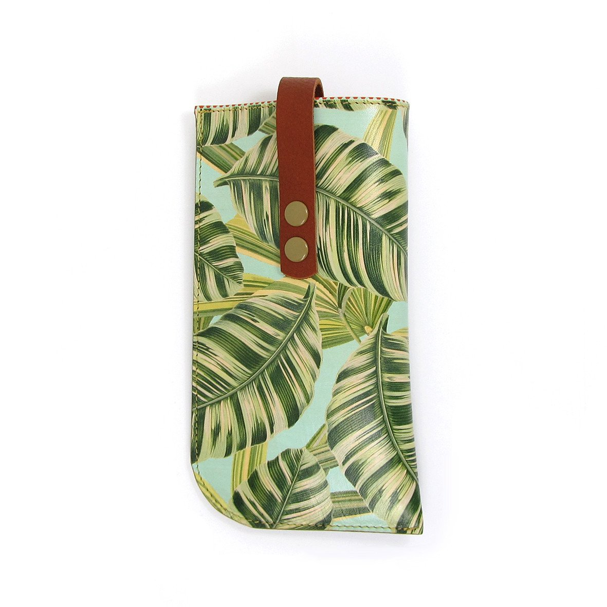 Leather Sunglasses Case: Tropical - Tovi Sorga  - 1