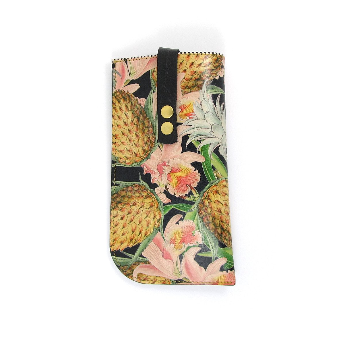 Leather Sunglasses Case - Tropical No.2 - Tovi Sorga  - 1