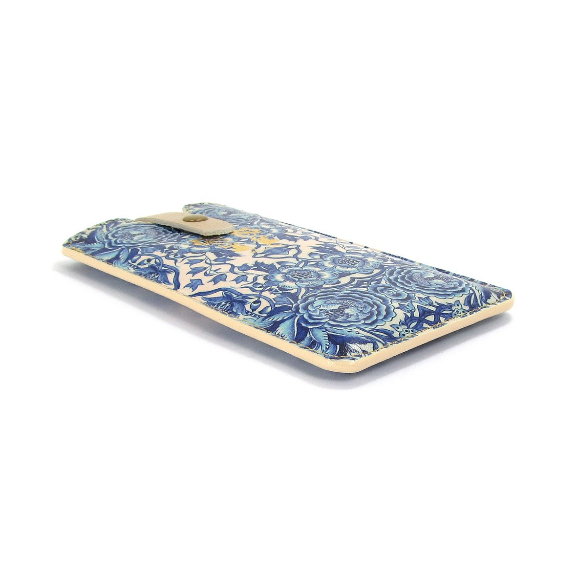 Leather Phone Case  - Blue & White Porcelain - Tovi Sorga  - 5
