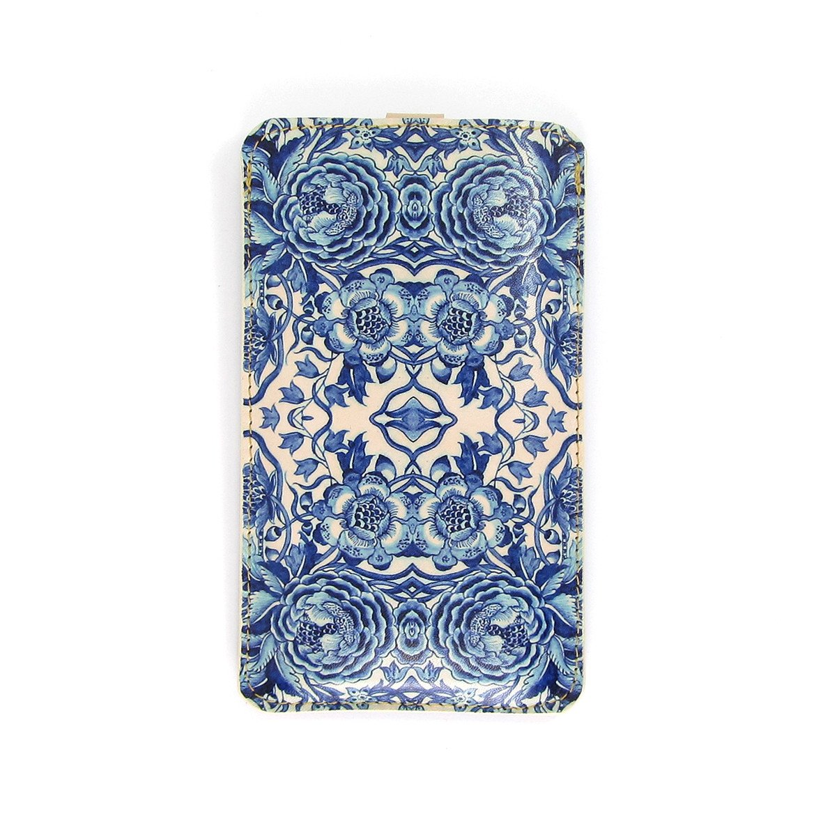 Leather Phone Case  - Blue & White Porcelain - Tovi Sorga  - 4