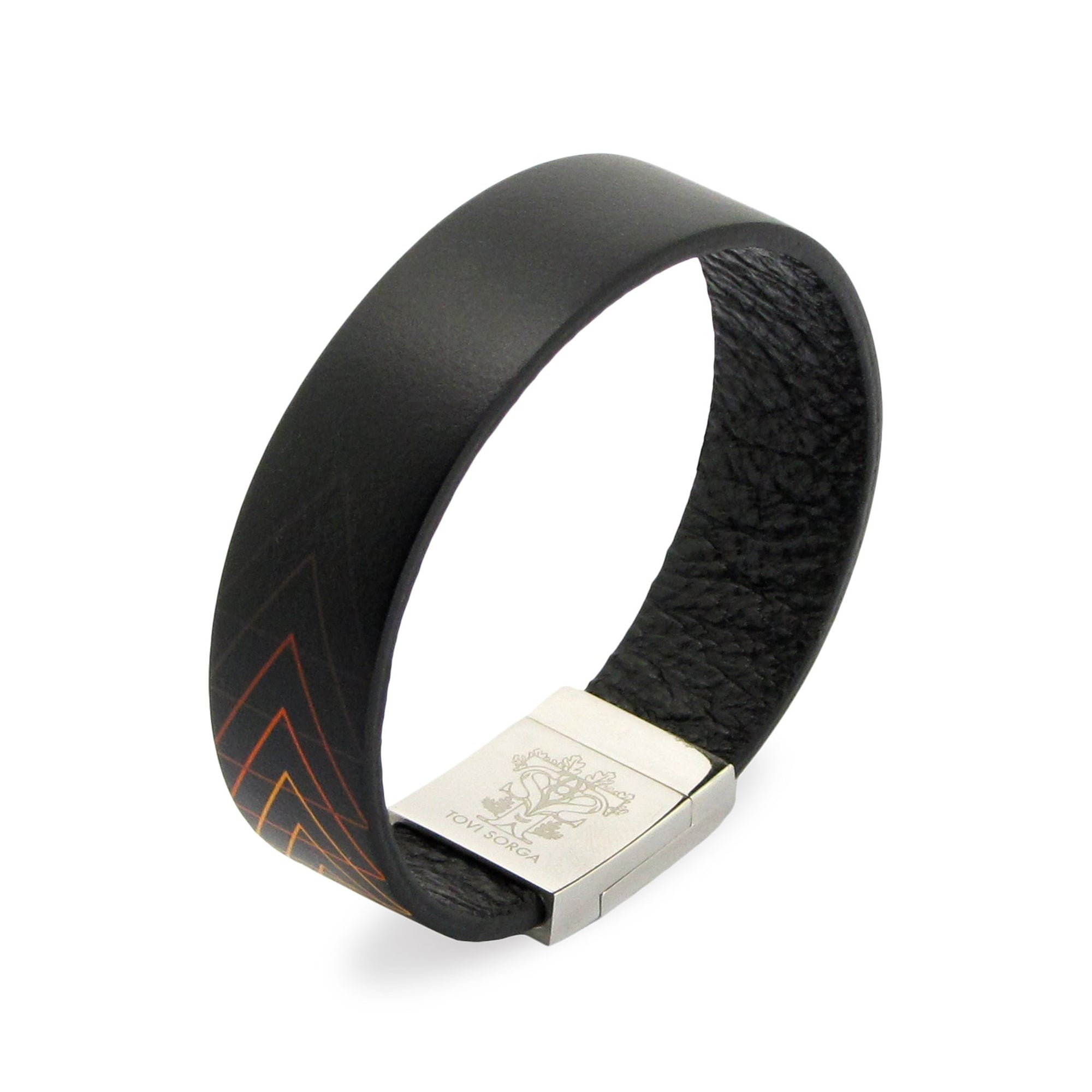 Leather Contactless Payment Bracelet: Runway