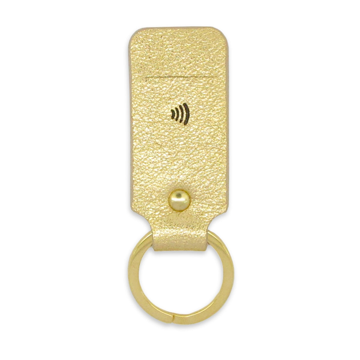 Unique birthday gifts for her - New payment tech in a beautifully crafted black and gold key ring by Tovi Sorga powered by Pingit