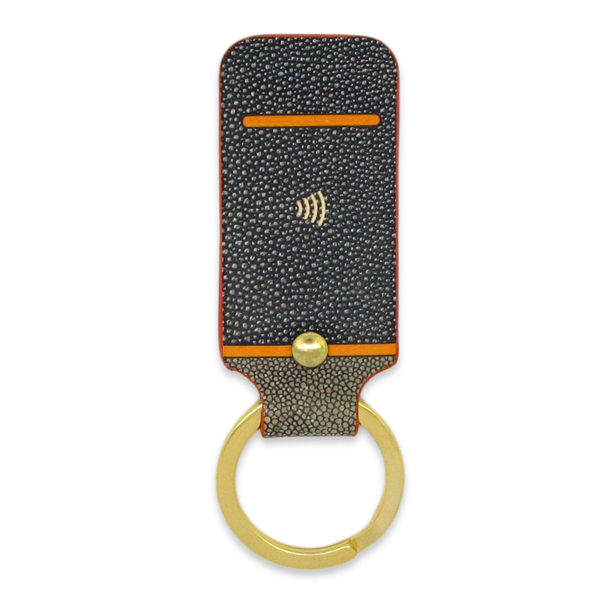 Leather Contactless Payment Key Fob - Ray Skin