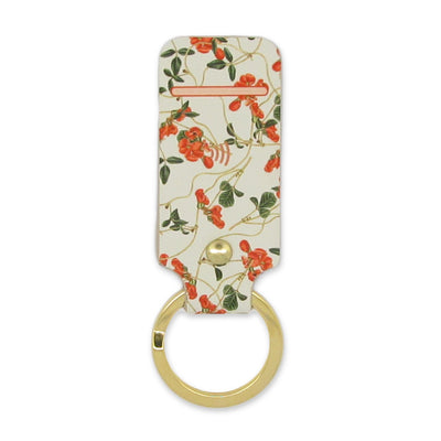 Leather Contactless Payment Key Fob - Sweet Pea