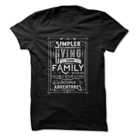 Simpler Living - Ditching Suburbia T-Shirt