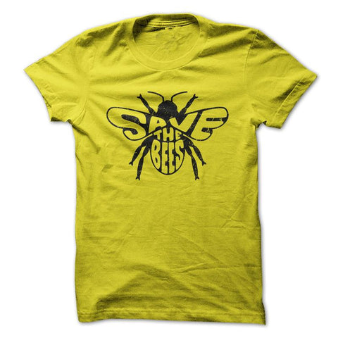 Save The Bees - Gardening T-Shirt