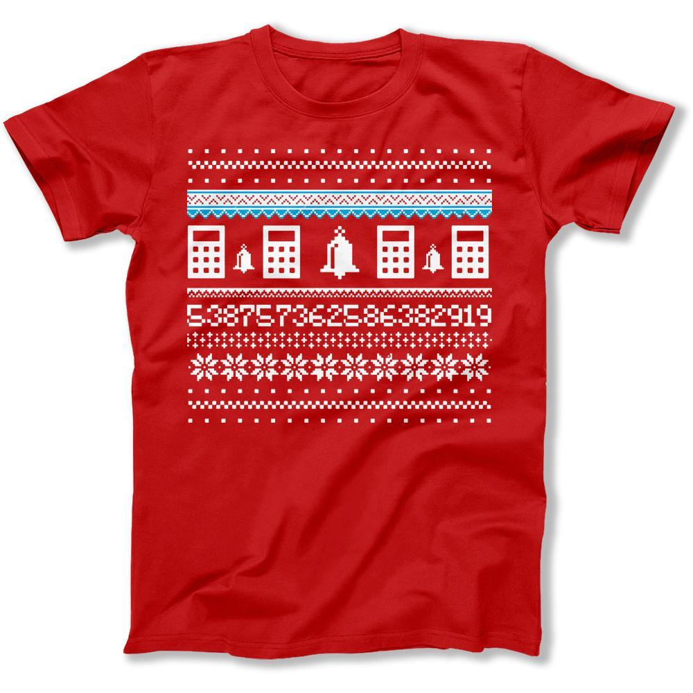 Ugly Christmas Sweater Men.Accountant Ugly Christmas Sweater T Shirt