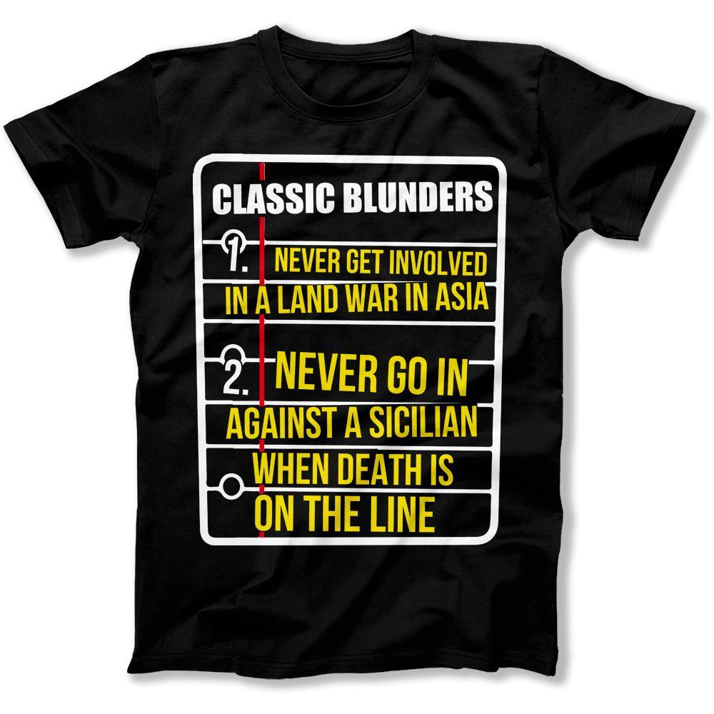 Classic Blunders - T Shirt