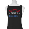 (Custom) Family Cookout - Personalized - Apron