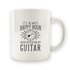 Guitar Happy Hour - 15oz Mug
