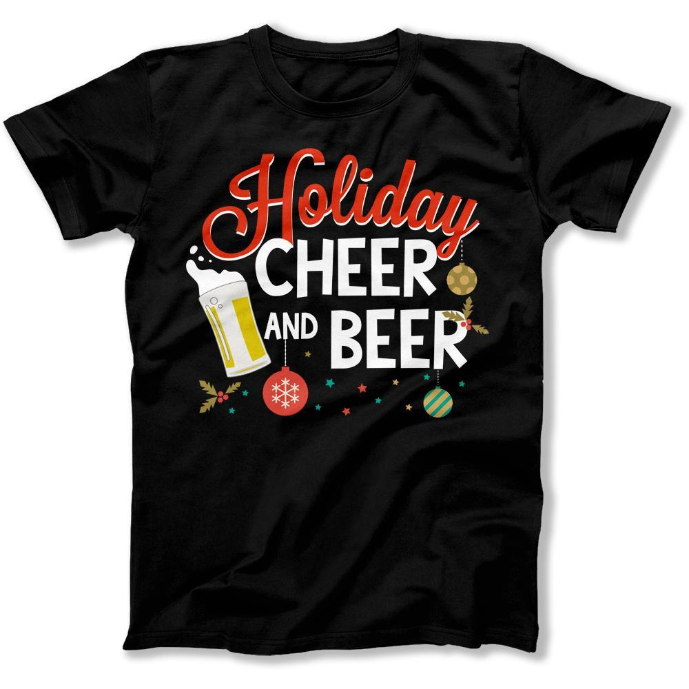 Holiday Cheer and Beer - T Shirt