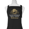 I Love Animals. They Taste Delicious - Apron