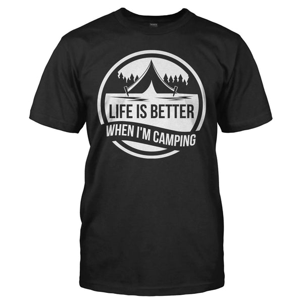 Camping T Shirts And Hoodies I Love Apparel