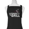 License To Grill - Apron