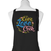 Live Love Cook - Apron