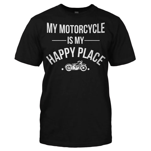 My Motorcycle Is My Happy Place