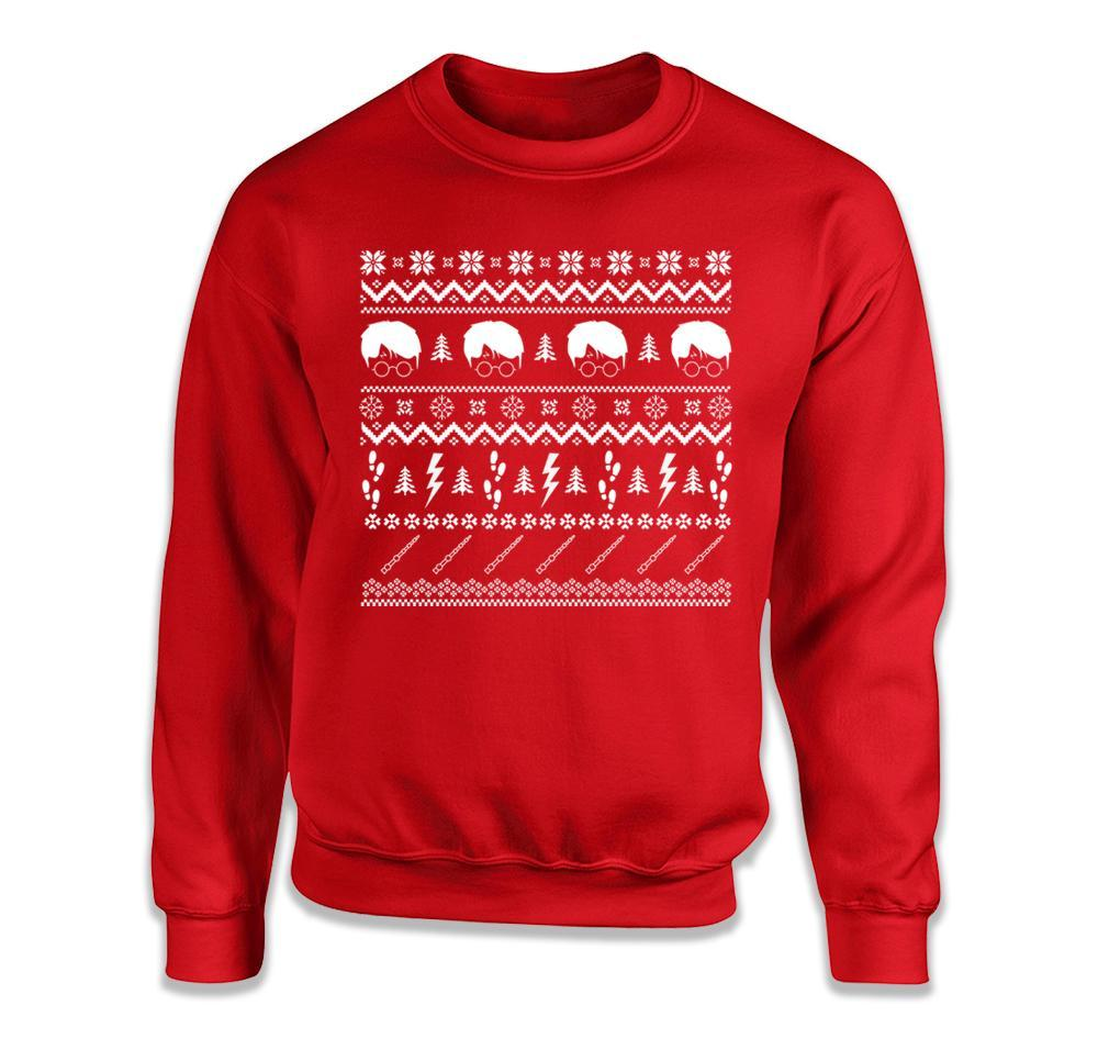 potter ugly christmas sweater - Harry Potter Ugly Christmas Sweater