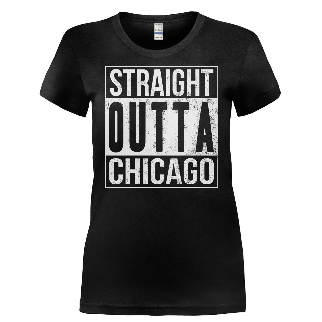 Chicago T-Shirt Straight Outta Chicago  Unisex Youth Shirts