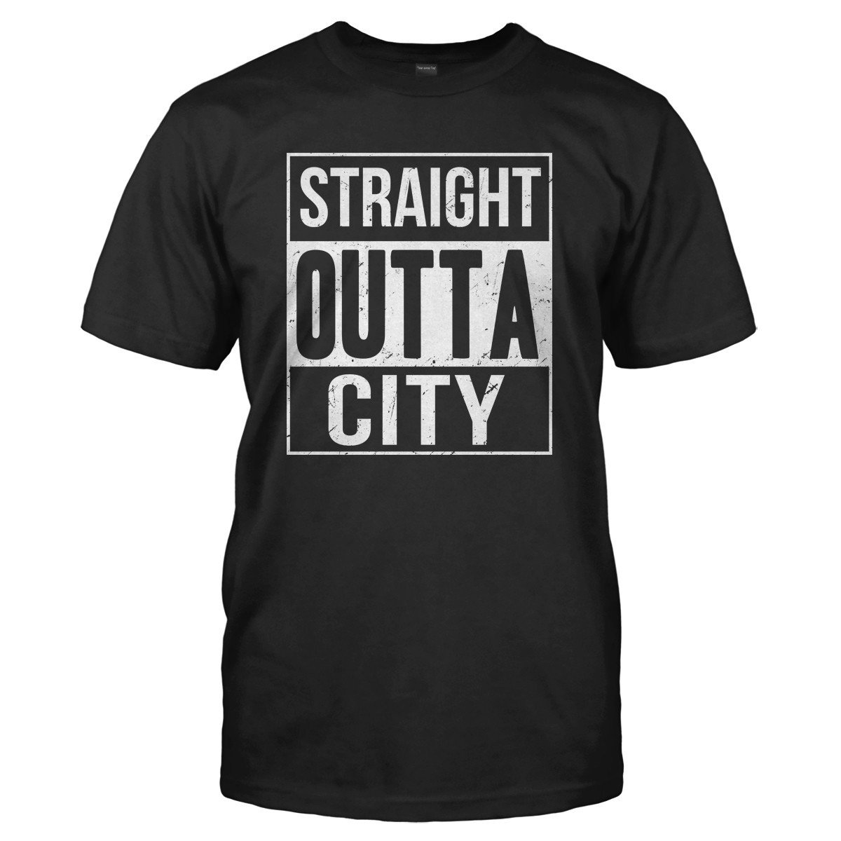 7ac7e5b13f75 Straight Outta (Your Text) Custom T-Shirt & Hoodie | I Love Apparel