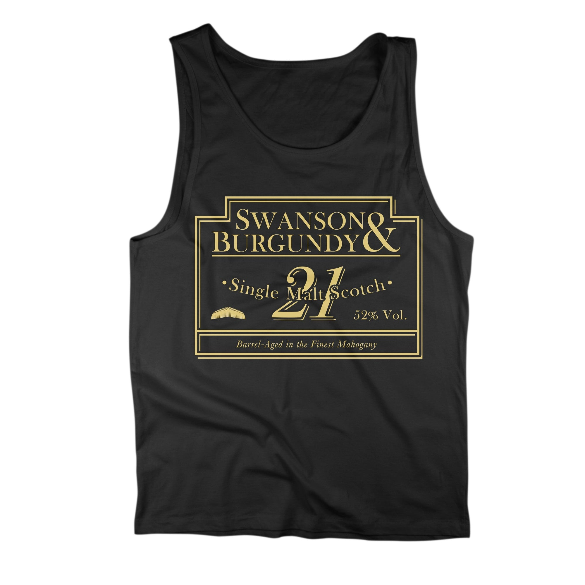 Swanson & Burgundy Scotch Tank Top