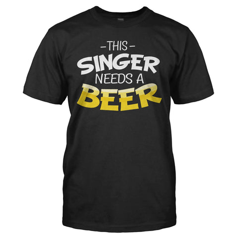 This Singer Needs A Beer