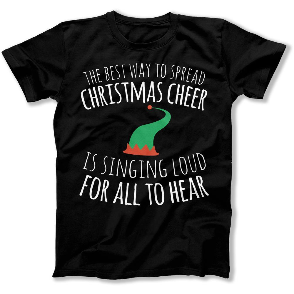 the best way to spread christmas cheer movie t shirts hoodies i love apparel
