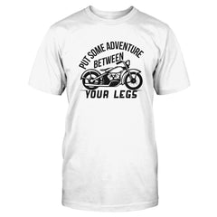 Put Some Adventure Between Your Legs - Motorcycle
