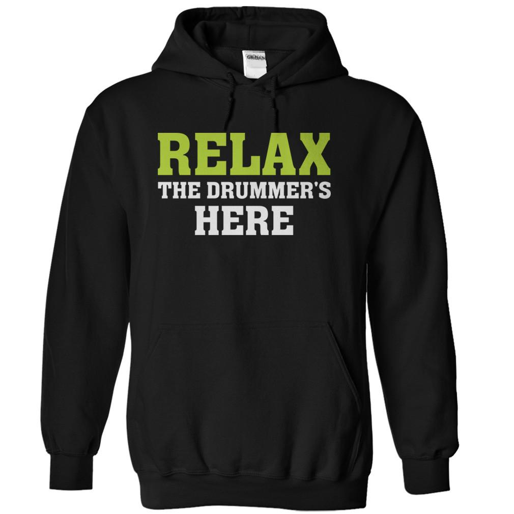 Relax - The (Custom Text)'s Here - Personalized