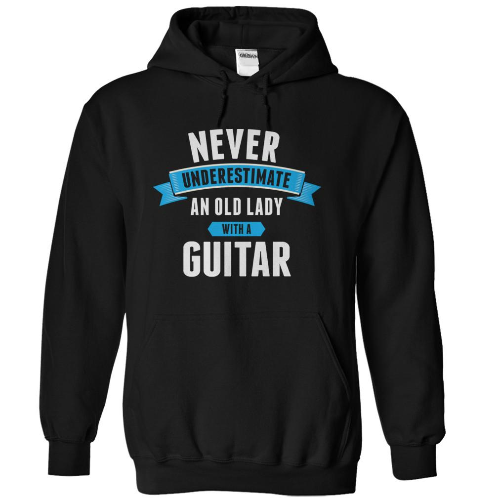 Never Underestimate An Old Lady With A Guitar